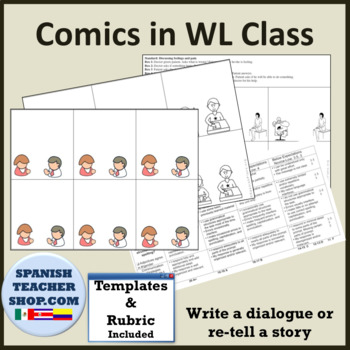 TPRS Comic Strip Foreign Language