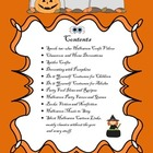 No Time, No Money, Halloween Planning Guide for the Classr