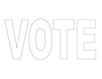 VOTE Word for VOTE Glyph