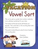 Vacation Vowel Sort