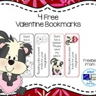 Valeninte Bookmark Sampler
