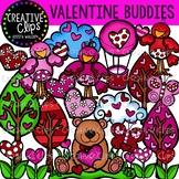 Valentine Buddies {Creative Clips Digital Clipart}