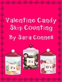 Valentine Candy Skip Counting