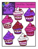 Valentine Cupcakes {Creative Clips Digital Clipart}