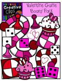 Valentine Game Board Pack {Creative Clips Digital Clipart}