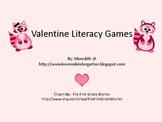 Valentine Literacy Games