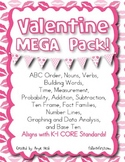 Valentine MEGA Pack - K-2 CORE aligned activities