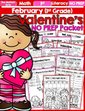 February NO PREP Packet (1st Grade)
