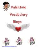 Valentine Vocabulary Bingo - Print & Go!