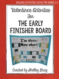 Valentine's Activities {for the Early Finisher Board}