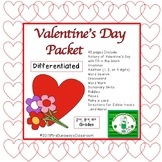 Valentine's Day Activities Packet 2015