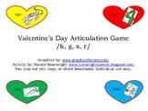 Valentine's Day Articulation Game