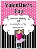 Valentine's Day:  Balanced Literacy Unit