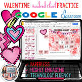Valentines Day Hundreds Chart Practice
