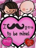 I Mustache You to Be Mine!  Cards and Printables for Valen