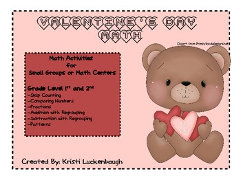 Valentine's Day Math Games and Activities