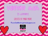 Valentine's Day Math Stations (Bundled)