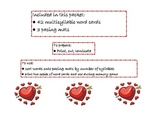 Valentine's Day Multisyllabic Words
