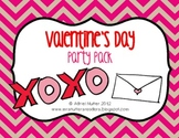 Valentine's Day Party Mega Pack - Student activity pack an