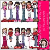 Valentine's Day Stringbeans by Melonheadz