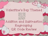 Valentine's Day Themed Addition and Subtraction Regrouping