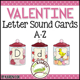 Valentines Letter Sound Matching Cards A-Z