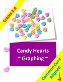 Valentines Math Graphing for Grades 3-6