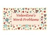 Valentine's Word Problems