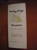 Valley Forge Vacations Brochure
