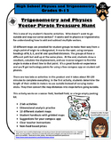 Vector Pirate Treasure Hunt - Physics, Trigonometry