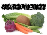 Vegetable Unit Bundle for Culinary Arts Course includes pp