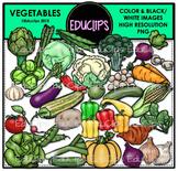 Vegetables Clip Art Bundle