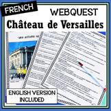 Versailles – Château de Versailles – Internet activity