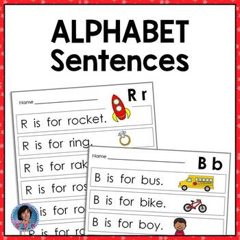 Very First Alphabet Sentences