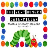 Very Hungry Caterpillar Math & Literacy Stations