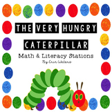 Very Hungry Caterpillar Math & Literacy Stations