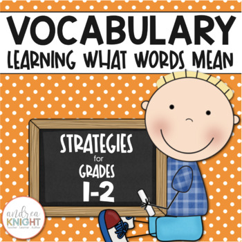 Very Very Vocabulary {Learning What Words Mean}