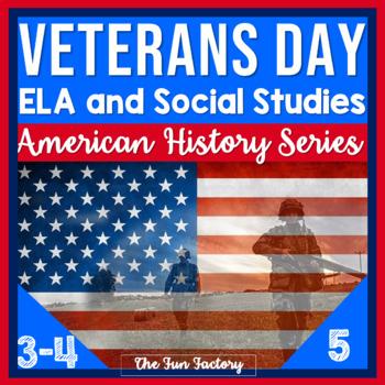 Veterans Day, November 11th {Grades 3-5}