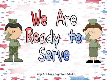 Veterans Day- We Are Ready to Serve Shared Reading PowerPo