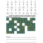 Viking Runes Worksheet