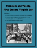 Virginia Studies 20th/21st Century Virginia Unit (VS.9 a-d