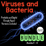 Viruses and Bacteria Complete Unit Plan - 14 products included