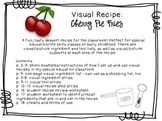 Visual Recipe for the Special Ed Classroom - Cherry Pie Fries