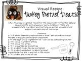 Visual Recipe for the Special Ed Classroom - Turkey Pretze