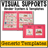 Visual Supports Binder System for Special Needs Students {
