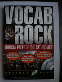 Vocab Rock! Musical Preparation for the SAT and ACT, w/CD