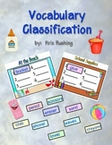 Vocabulary Classification