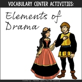 Vocabulary Fun: Elements of Drama {Game & Activity Pack}