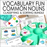 Vocabulary Fun: Sorting, Classifying and Which One Doesn't