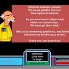 Vocabulary Games Alien Blaster